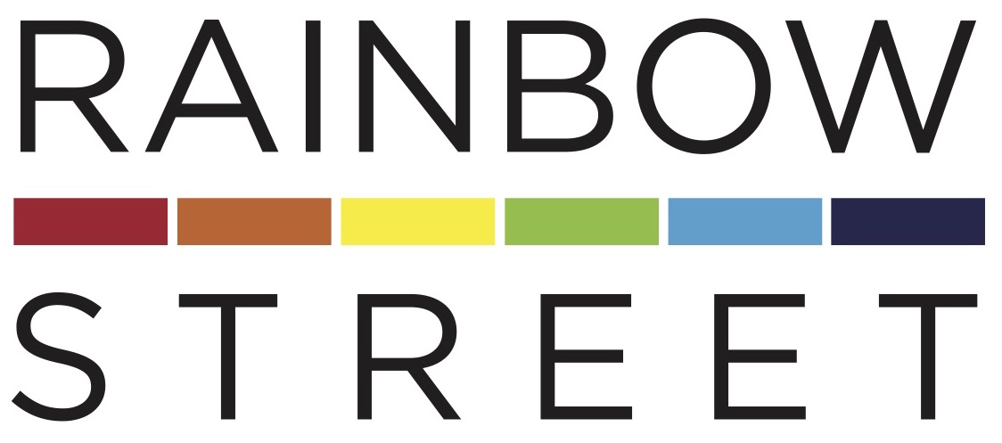 Rainbow Street logo and link