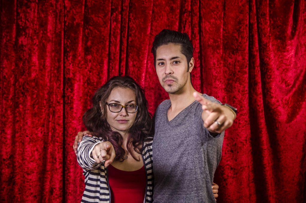 You Too Actors Courtney Hartman and Jess Lazkano