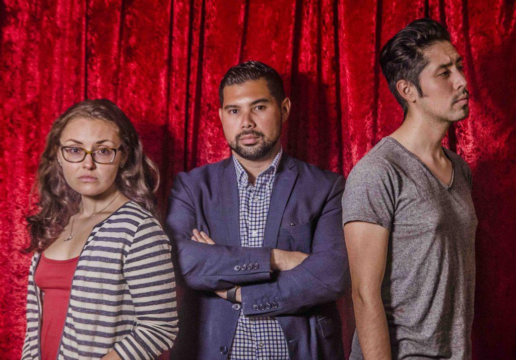 You Too Actors Courtney Hartman, Alejandro Estaqvio, and Jess Lazkano