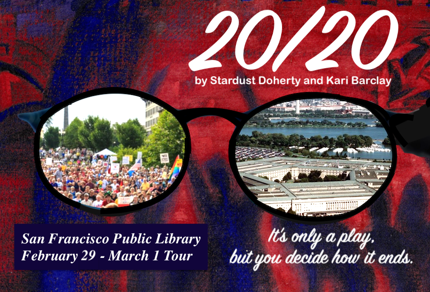 20/20 Library Tour Flyer