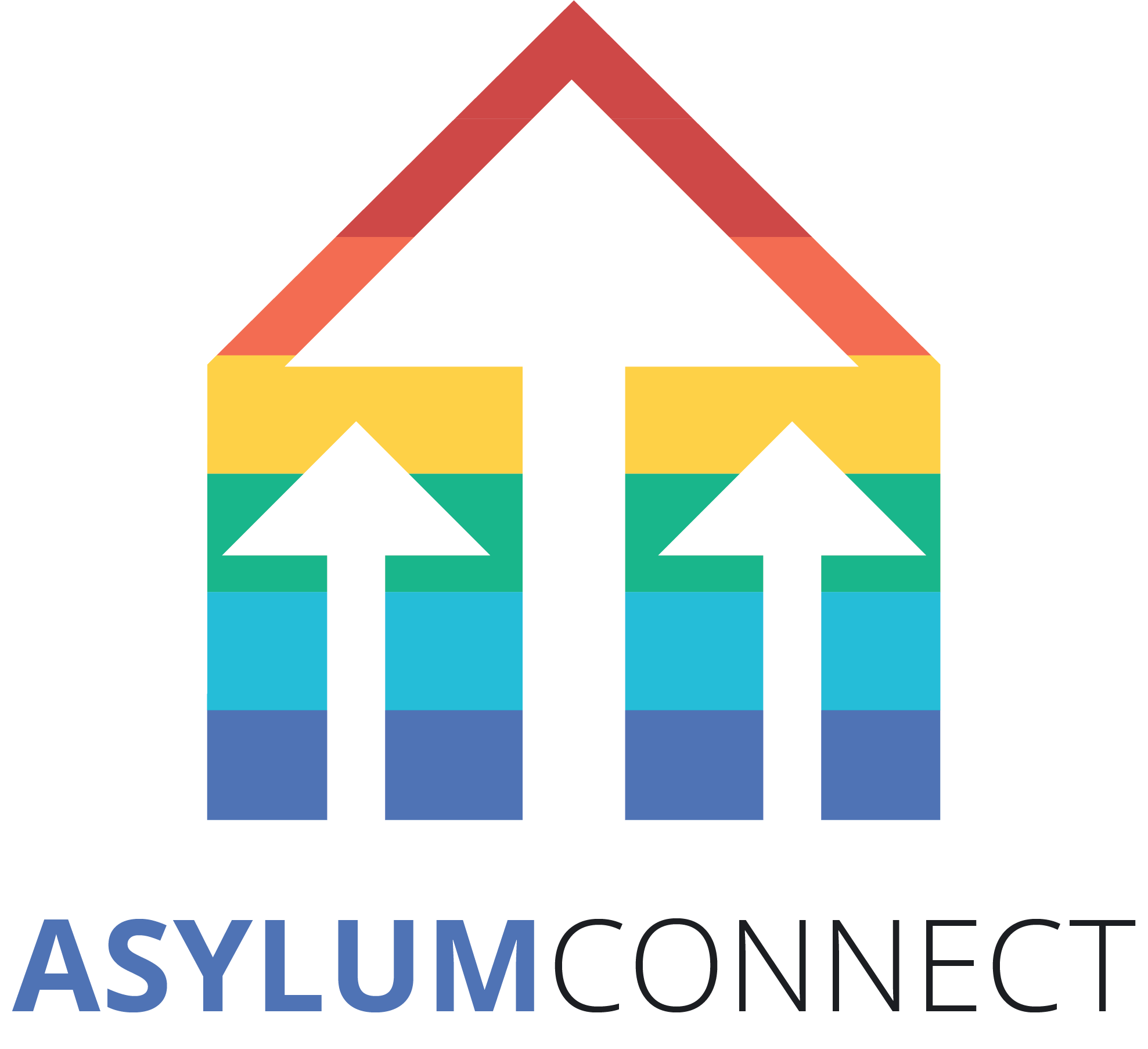 AsylumConnect logo and link