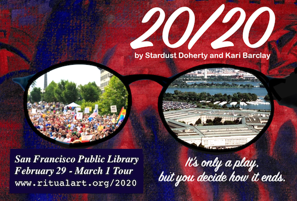 20/20 Free Library Tour flyer