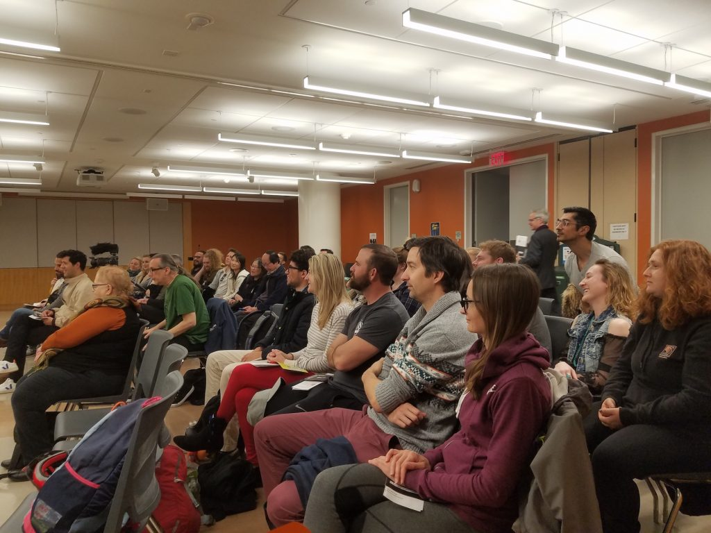 20/20 Free Library Tour Audience at San Francisco Main Library on March 1, 2020