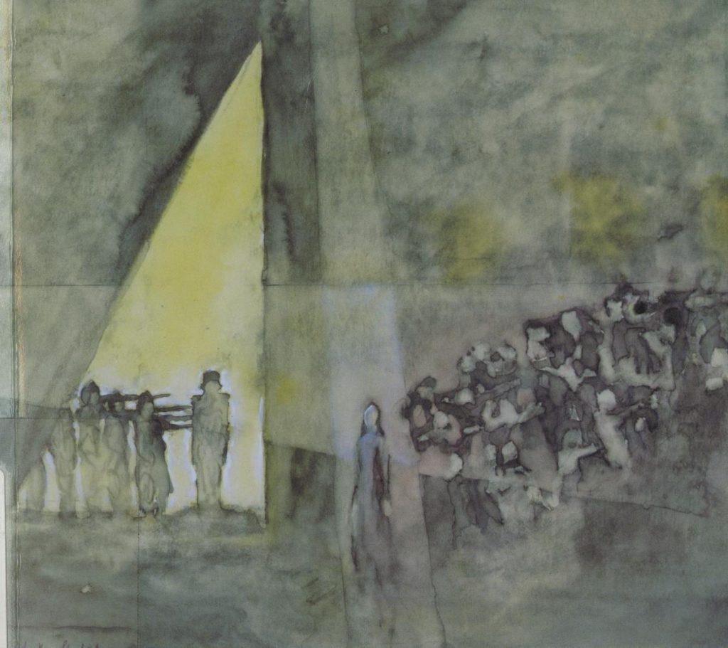 Image of Stage Design for Masses Man by Ernst Toller